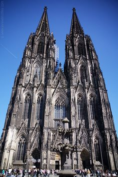 Colonge Germany Cathedral. I miss standing next to this in awe. It is so beautiful and fantastically created