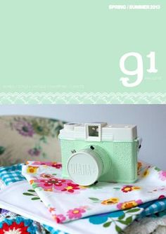91 Magazine - issue 6 (UK based vintage and retro inspired products and crafts)