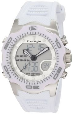 Freestyle Men's FS85015 Shark X 2.0 Classic Dive Ana-Dig Dual Time Watch Freestyle. $65.00. Save 32% Off!