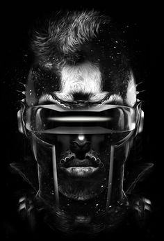 Cyberpunk, Future, Cyber Glasses, Futuristic Style, FANTASMAGORIK® CYCLOPS by obery nicolas, via Behance