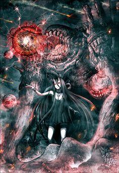 戦艦棲姫「ヤキハラエ…!」 / ケースワベ(K-SUWABE) さんのイラスト - ニコニコ静画 (イラスト)