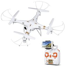 DBPOWER X705C FPV 3D Function 2.4 GHz 6 Axis Quadcopter RC Drone with 0.3 MP Camera for iOS and Android DBPOWER http://www.amazon.com/dp/B016BMBRY8/ref=cm_sw_r_pi_dp_kJfexb13A0B5C