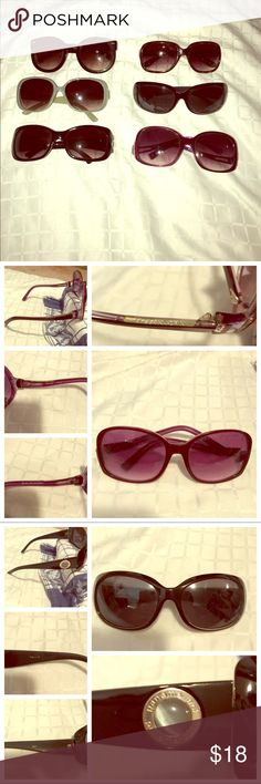 ✨ 8 sunglasses bundle for ONE PRICE!!!😎✨ Random mix of sunglasses. There are two that are brand names. I have a BCBG MAZAXRIA pink sunglasses (2nd pic) & a Panama Jack within this sunglasses lot!! Others are just regular no name brands. All great condition!!! Just have way too many!! None of these sunglasses have cases. Price is for ALL 6 sunglasses!!!!!! BCBGMaxAzria Accessories Sunglasses