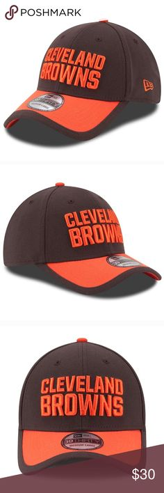 Adult new era Cleveland Browns cap Top off your Cleveland Browns fan gear with this winning New Era stretch-fit cap.  PRODUCT FEATURES Wicks away moisture Anti-odor treatment Curved bill  FABRIC & CARE Polyester, nylon Spot clean Cleveland Browns When you're a fan, you're family! Accessories Hats