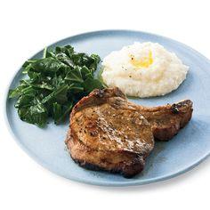 Juicy Buttermilk Pork Chops