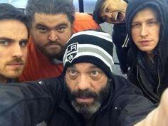 Colin O'Donoghue- Lee Arenberg - Josh Dallas - Jorge Garcia