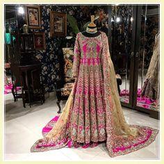 Ali Xeeshan Latest Bridal Dresses Latest Wedding Collection 2018-2019