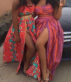 Ankara maxi rok Afrikaanse print maxi rok Maxi door MaDeInAfrikaGh