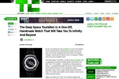 http://techcrunch.com/2013/06/07/the-deep-space-tourbillon-is-a-one-off-handmade-watch-that-will-take-you-to-infinity-and-beyond/ ... | #Indiegogo #fundraising http://igg.me/at/tn5/