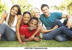 Stock Photography of Group Of Young Friends Having Fun Together u18573661 - Search Stock Photos, Pictures, Prints, Images, and Photo Clip Art - u18573661.jpg