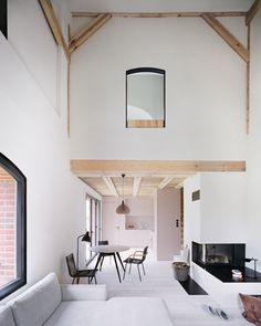 Old German cowshed transformed into a stunning holiday home.