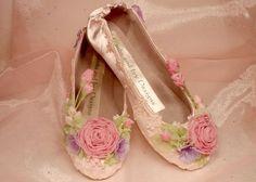 Sugarplum Fairy Ballet Slippers Fairytale Ballerina by AJuneBride