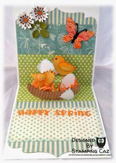 Karen Burniston's March Designer Challenge - Spring!