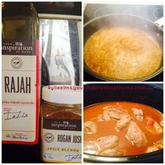 YIAH Rogan Josh in the slow cooker for dinner