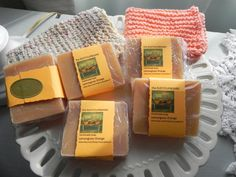 Handmade Lemongrass Orange Vegan Friendly Bar Soap by rustycupboard on Etsy