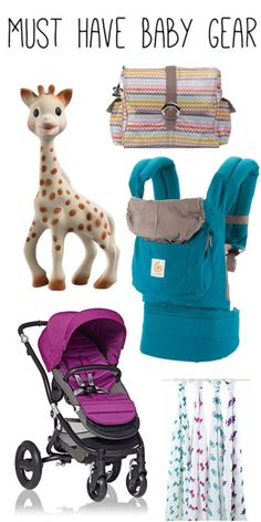 Must Have Baby Gear - my favorite baby gear and why I love it!