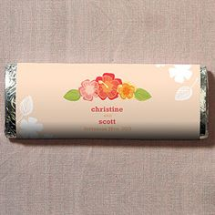Tropical Bliss Nut Free Gourmet Milk Chocolate Bar specialtyribbon.com