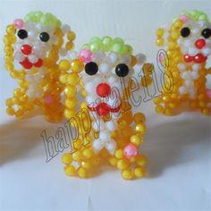 3D beadwork animal Monkey 2PCS Car/kids Birthday/Children's day/Xmas gift