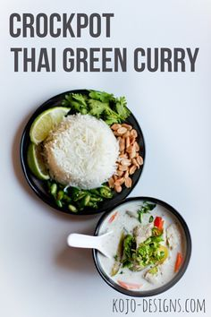 thai green curry - so trying this!