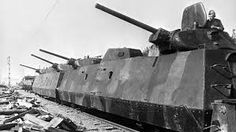 Image result for WWII armoured trains red army