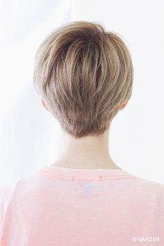 GARDENが提案する最新ヘアカタログ Undercut Hairstyles, Pixie Hairstyles, Short Hair Cuts, Short Hair Styles, Hair Color, Ulzzang, Outfits, Choices, Boyfriend