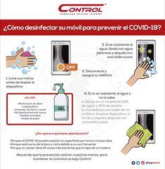 El coronavirus es una realidad, pero juntos podemos prevenir su contagio. Te compartimos la siguiente información para que tengamos en consideración a la hora de hacer uso de nuestros celulares y los mantengamos siempre libres de suciedad. Sigamos las medidas de precaución ante el coronavirus y cuidemos de nuestra salud. #YoSoyControl #Prevención #VidaSana #Coronavirus #Covid19Mx Soft Towels, Computer Security, Healthy Life, Health And Wellness