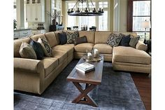 Amandine 5-Piece Sectional by Ashley HomeStore, Brown