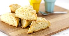 These light, flakey, easy-to-make buttermilk scones are perfect w/ jam, lemon curd or plain with butter. Also a great recipe to use that extra buttermilk.
