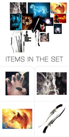 """""""Summon"""" by silverwolf2018 ❤ liked on Polyvore featuring art"""