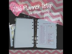 2016 Planner Setup Flip Through - Franklin Covey