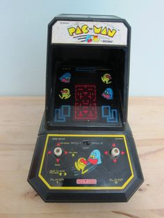 """Vintage 1981 Coleco/Midway Retro """"PAC-MAN"""" Tabletop Arcade Game From Yesteryearessentials"""