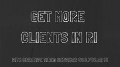 Creative video marketing in RI - best web video marketing in Rhode Island Marketing Videos, Creative Video, Best Web, Rhode Island, Business Marketing, Youtube, Youtubers, Youtube Movies