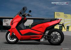 Electric Maxi Scooter commissioned by MKLT (Valencia) in Scooter Custom, E Scooter, Custom Bikes, Airplane Car, Automotive Design, Electric Cars, Concept Cars, Cars And Motorcycles, Motorbikes