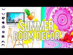 DIY Summer Room Decor Tumblr Inspired! Easy & Affordable! - YouTube