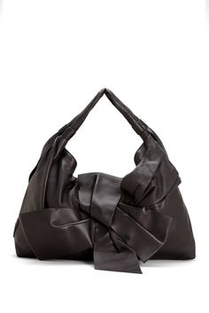 M Missoni Valentino Soft Leather Hobo Bag With Large Bow Hautelook