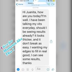 You know that is what it is all about I know what my #healthyhairjourney has provides for me . Being able to help others reach their own #healthyhairgrowth #goals is such a privilege and #blessing I love  getting #testimonies like this 1 .. #hairgoals #healthyhaircare #healthyhairjourney #blackbeautyradar #beautyislife #beautygram #blackbeautyblogger
