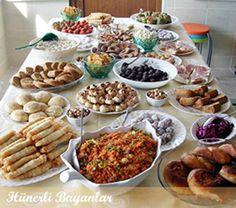 Turkish food.