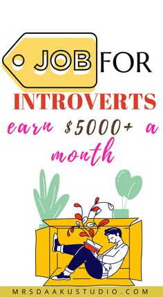 Are you an introvert and looking for work from home jobs? To your surprise, there are so many high-paying jobs for introverts. start working today to make money online from home