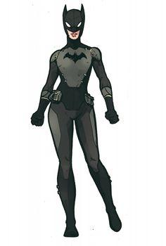 Batgirl Redesign by Stefan Tosheff