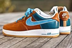 Nike Air Force 1 Bespoke Sneakers - can sometimes look amazing, these are a perfect example. Nike Free Shoes, Nike Shoes Outlet, Mode Masculine, Store Nike, Just Keep Walking, Basket Sneakers, Sneaker Store, Fashion Shoes, Mens Fashion