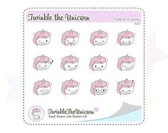 A201|  emoticons stickers,emotional stickers,emoji stickers,face stickers,stickers set,unicorn stickers,planner stickers,smiley faces by twinkletheunicorn. Explore more products on http://twinkletheunicorn.etsy.com