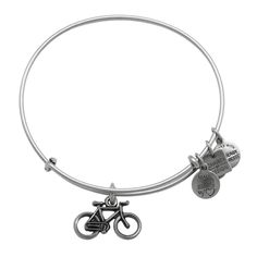 Alex and Ani's cute and quirky bicycle charm bangle is great for all of you that love riding around our beautiful vineyards!