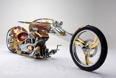 Gold-Plated BMS Nehmesis Custom Chopper