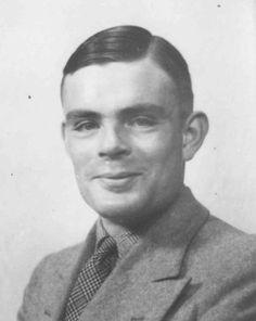 Alan Mathison Turing, OBE, FRS (23 juin 1912 - 7 juin 1954), est un mathématicien, cryptologue et informaticien britannique. Il est l'auteur en 1936 d'un article de logique mathématique, 1qui est devenu plus tard un texte fondateur de la science informatique.