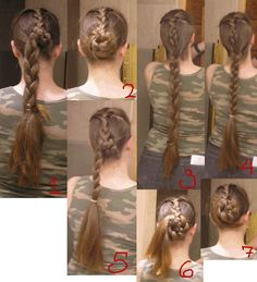 Elling woman hairstyle recreation
