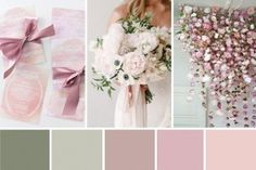Spring Awakening - Pretty Pink, Sage and White Wedding Inspiration | OneFabDay.com Ireland