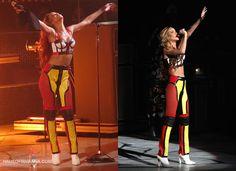 Rihanna Diamonds World Tour Costumes designed by Adam Selman
