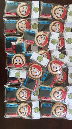 Super Mario Birthday, Mario Birthday Party, Super Mario Party, 6th Birthday Parties, 1st Boy Birthday, Game Truck Party, Nintendo Party, Peach Party, Video Game Party