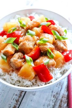"""Slow Cooker Sweet and Sour Chicken Thighs 