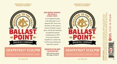 Ballast Point Grapefruit Sculpin Cans